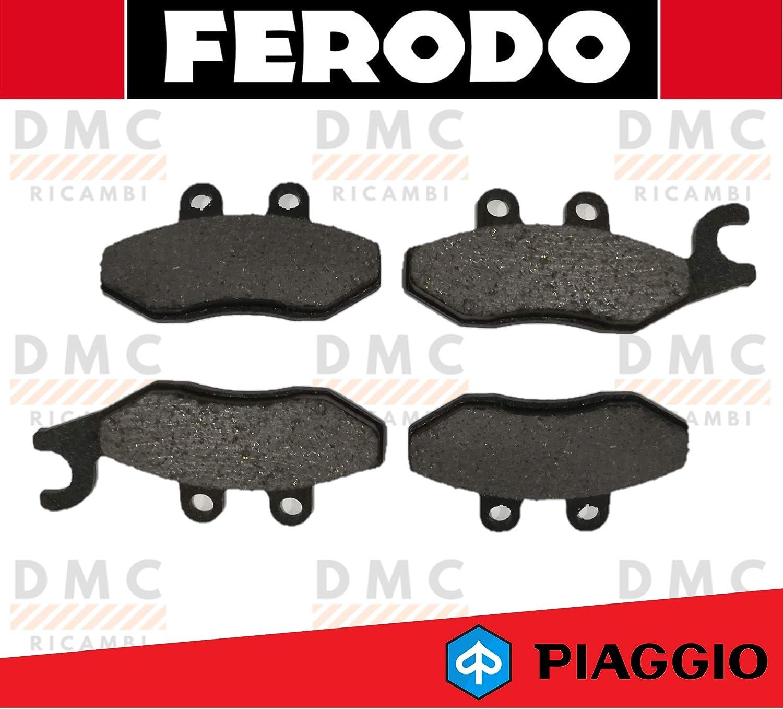 KIT PASTIGLIE PASTICCHE FRENO FERODO PIAGGIO X7 250 FDB2186