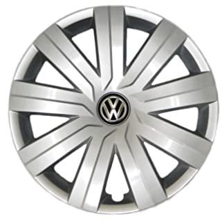 amazon genuine oem vw hubcap jetta sedan 2011 2014 14 spoke 2012 Volkswagen Jetta Brakes genuine vw hub cap jetta 2015 2016 9 spoke wheel cover fits 15