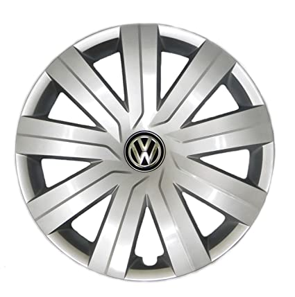 Amazon.com: Genuine VW Hub Cap Jetta 2015-2016 9-spoke Wheel Cover Fits 15-inch Wheel: Automotive