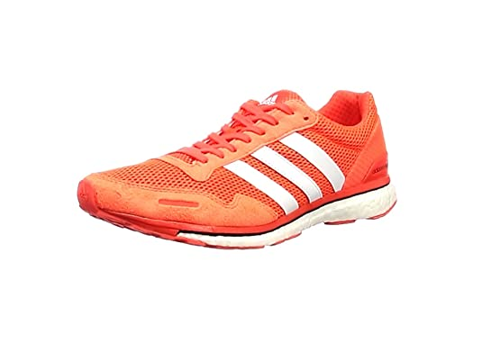 sports shoes 0a3e5 60c51 adidas Adizero Adios 3, Scarpe Running Uomo, Rosso HirereCblackBrblue,