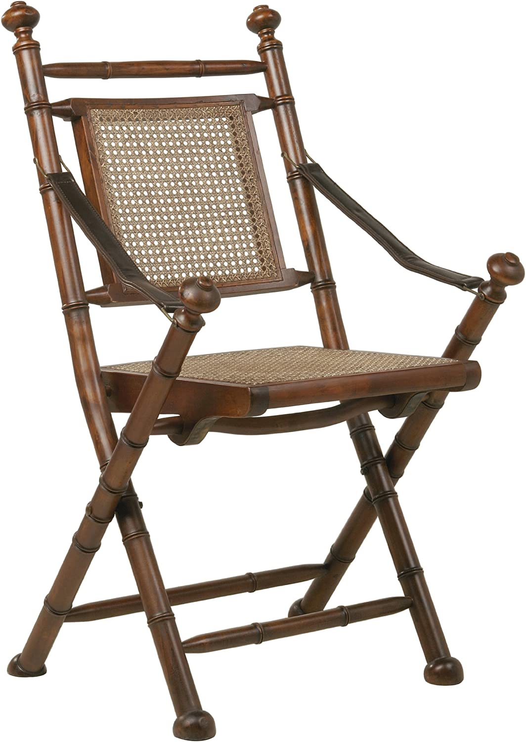 Kare Colonial 72756 Folding Chair 99 X 4 X 44 Cm Leather Amazon Co Uk Kitchen Home