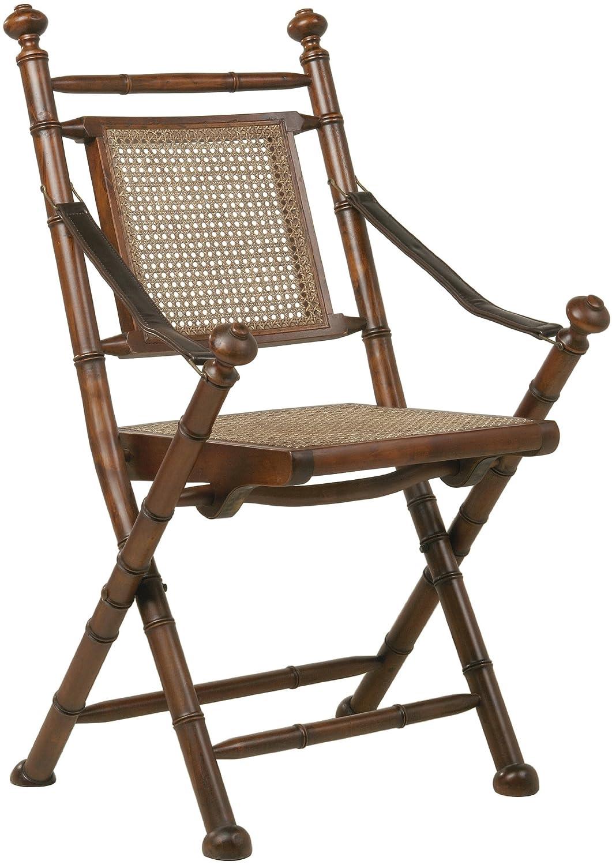 Klappstuhl holz design  Kare 72756 Klappstuhl Colonial 99 x 4 x 44, Leder: Amazon.de ...