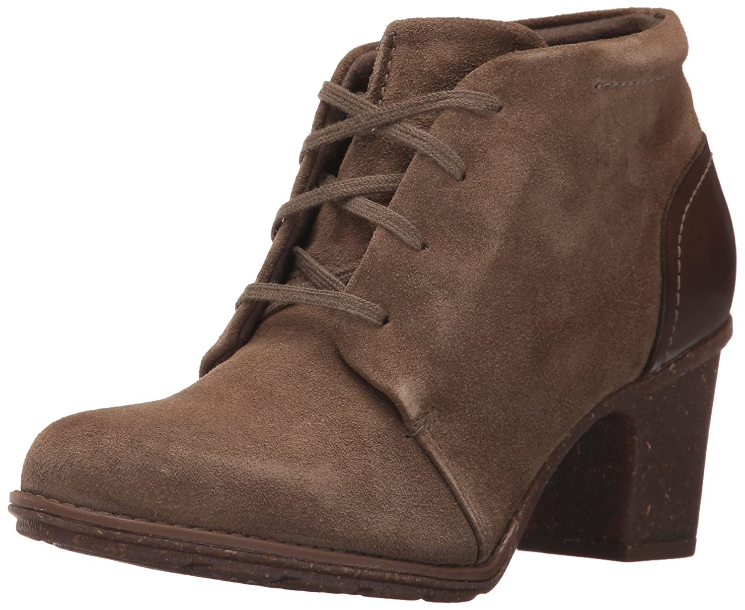 CLARKS Women's Sashlin Sue Ankle Bootie B01NCQYWI4 9 B(M) US|Olive