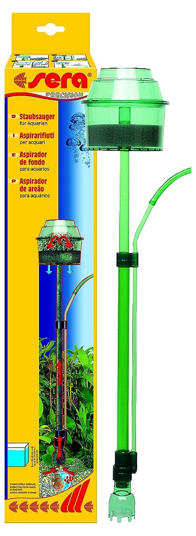 entfernt ohne Wasserwechsel sorgf/ältig Mulm und Schmutz aus dem Bodengrund sera 08550 Staubsauger