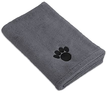 Amazon Com Dii Bone Dry Microfiber Pet Bath Towel With Embroidered