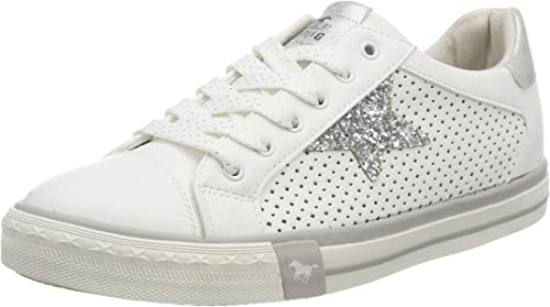 mustang glitter trainers