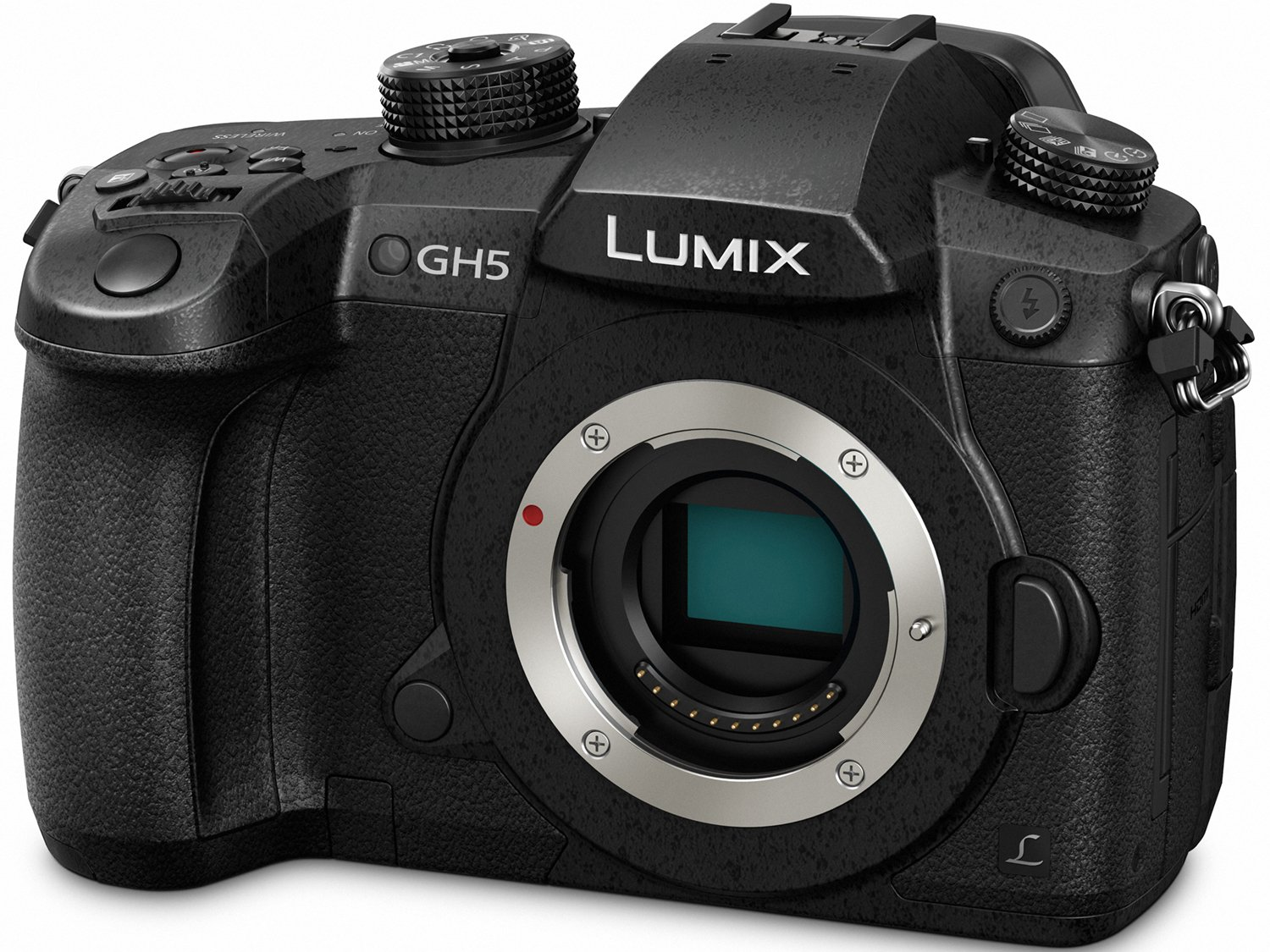 PANASONIC LUMIX GH5 Body 4K Mirrorless Camera (Body Only)