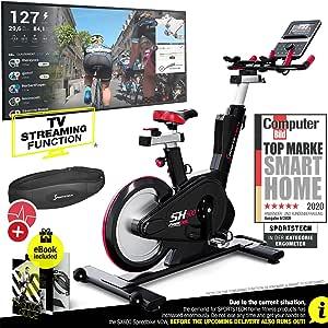 Sportstech Elite - Bicicleta de Ciclismo para Interiores (26 kg ...