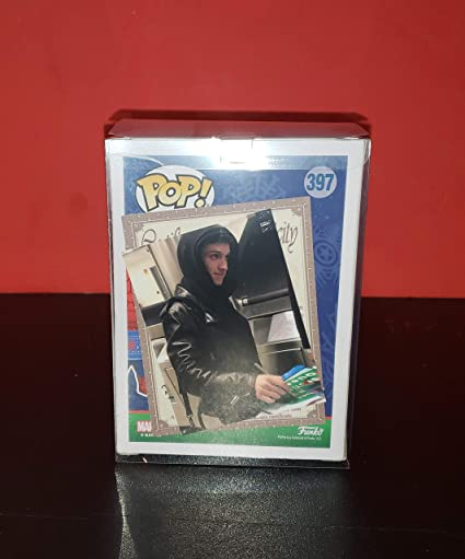 TOM HOLLAND - Autographed Signed SPIDER-MAN FUNKO POP 397 Vinyl Figure Homecoming Avengers Christmas COA at Amazons Entertainment Collectibles Store