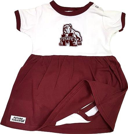 Amazon Com Mississippi State Bulldogs Onesie Baby Dress Sports