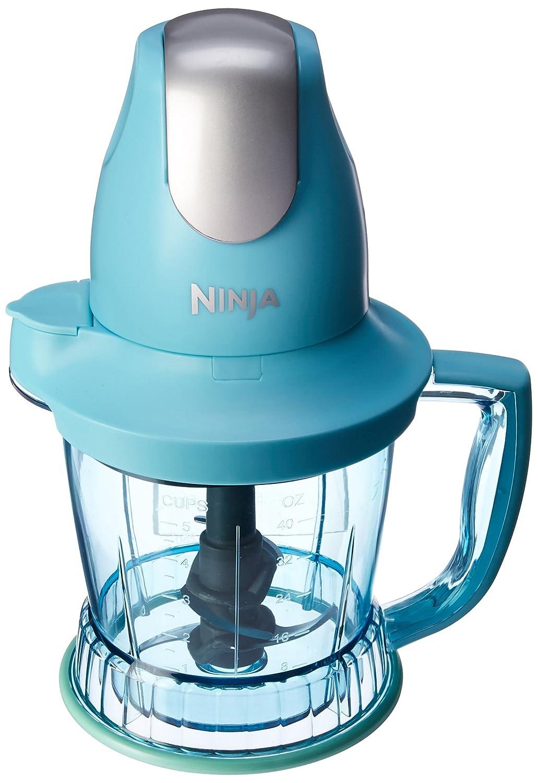 Ninja Storm Blender with 450 Watts Food Drink Maker Food Processor – QB751QTQ – Certified Refurbished Turquise
