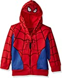 Marvel Boys' Spiderman Mask Costume Hoodie