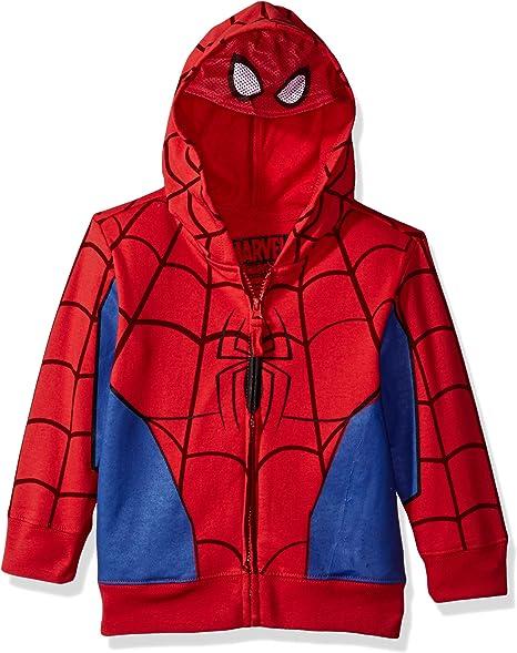 Amazon.com: Marvel - Disfraz de Spiderman con capucha para ...