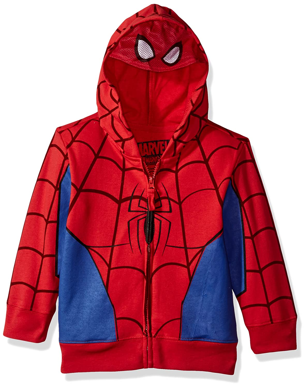Marvel Boys' Spiderman Mask Costume Hoodie Freeze Children's Apparel