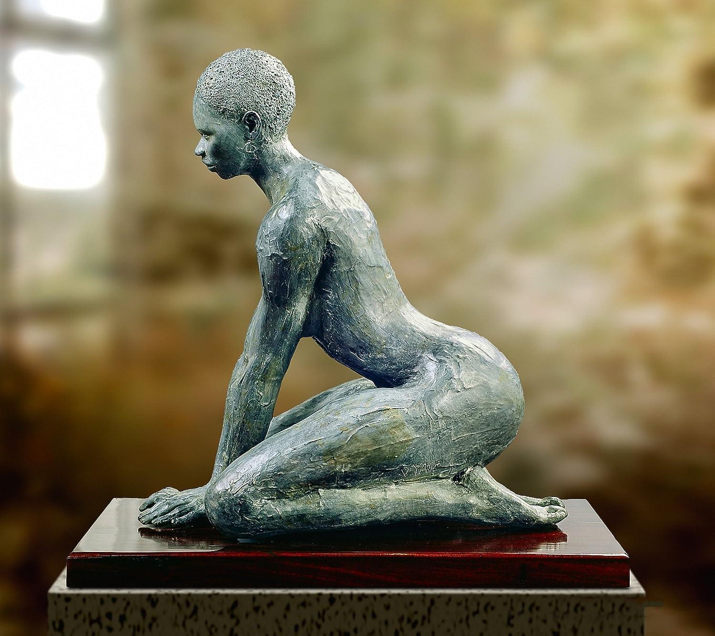 Bronze Nude Women Sculpture tribal woman sculpture metal