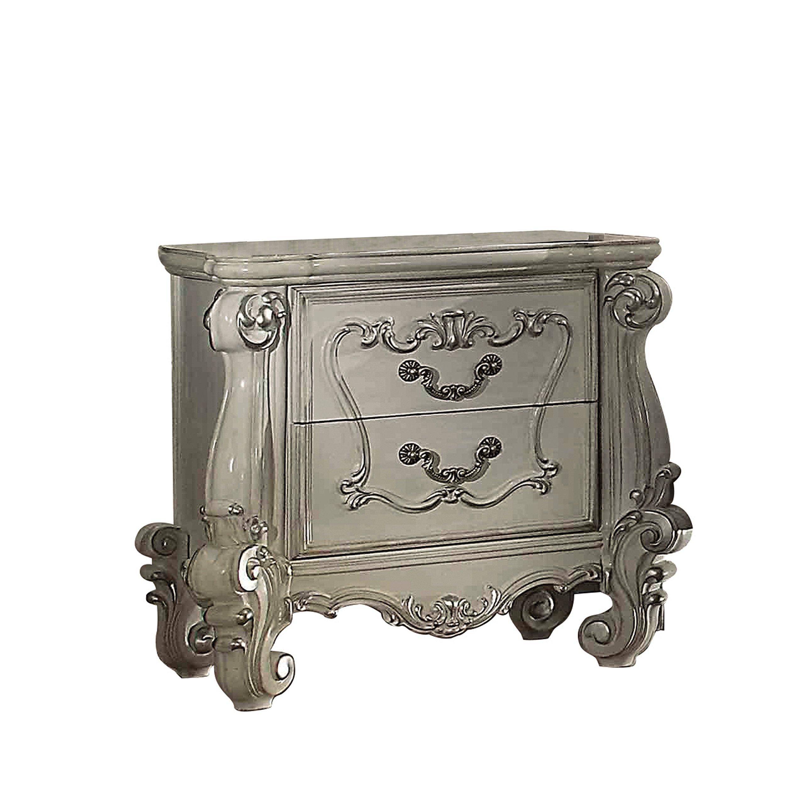 ACME Versailles Bone White Nightstand by Acme Furniture