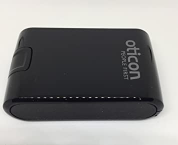 Amazon Com Oticon Hearing Aid Case Hard Cover Black Health