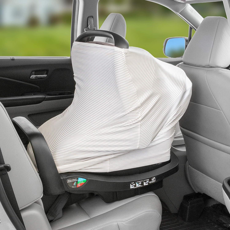 Black Car Leather Net Seat Back Organizer Hanging Storage Bag Between Car Seats Barrier of Backseat Pet Kids TRIIR Car Seat Storage and Car Handbag Holder