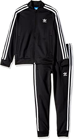 suit with adidas superstar