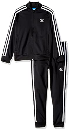 445979  : adidas originals kinder superstar track anzug: bekleidung