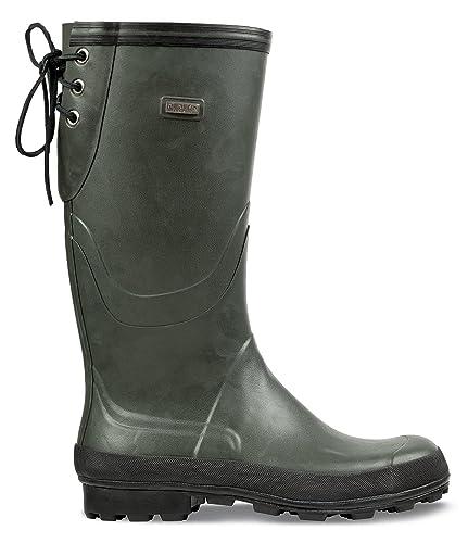 Nokian Gummistiefel Finnjagd grün: : Schuhe