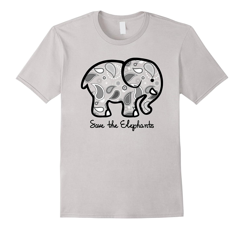c74faa3e618b SAVE THE ELEPHANTS T-Shirt Cute Harajuku Fashion Style Tee-TD – Teedep