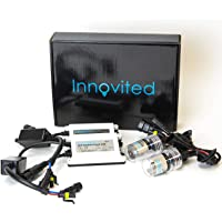 Innovited 55W AC HID bundle with (1 Pair) Slim Ballast and (1 Pair) Xenon bulb H1 10000K… photo