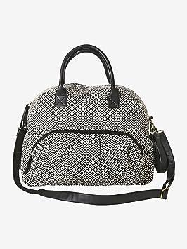 74300a952a VERTBAUDET Sac à langer Fashion mum Noir/blanc TU: Amazon.fr: Bébés ...