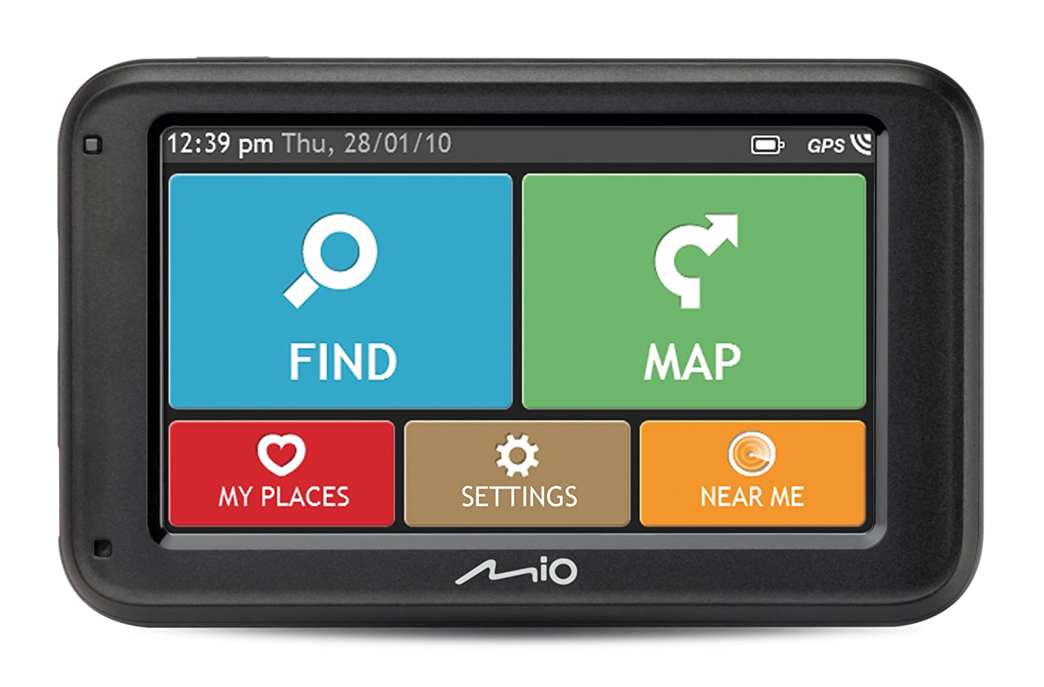 Navigation GPS MIOM413LMNOIR23 EUROPES CARTE A VIE
