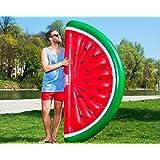 MELONE - WATERMELON - aufblasbare Melone - riesige aufblasbare Luftmatratze, MUNICHSTANDARD Floaty, Pool Luftmatratze, Floß, PVC, schwimmen, Pool, Beach, Strand, Party, XL Luftmatratze