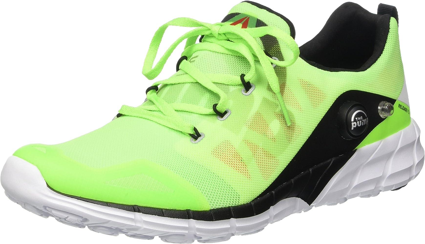 Reebok Zpump - Zapatillas de Running de Material Sintético para ...
