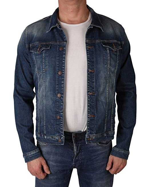 LTB Jeans - Chaqueta - Ajustada - para hombre Ruman Wash(50696) L/54: Amazon.es: Ropa y accesorios