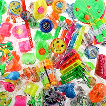 500 piezas obsequios pequeño juguete Mix bolsas Fiesta de ...