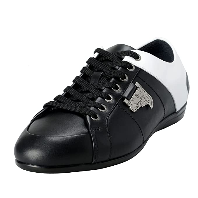 Versace Collection Men's TwoTone Leather Fashion Sneakers ...