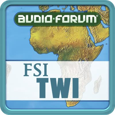 FSI: Twi Basic Course Vol. 1 (Level 1) - by Audio-Forum / Foreign Service Institute