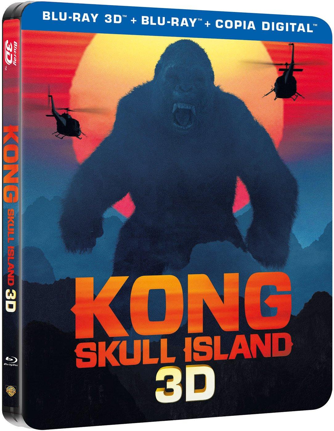 Kong: La Isla Calavera Blu-Ray 3d Steelbook [Blu-ray ...