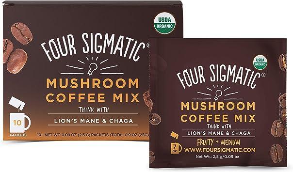Four Sigma Foods - Cafetera de seta - León Mane & Chaga - 10 ...