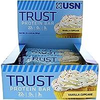 12 Count USN Supplements Vanilla Cupcake Trust Bar