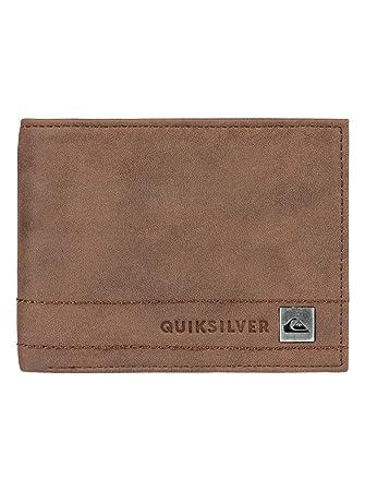 Quiksilver - Cartera de dos secciones - Hombre - M - Marrón: Quiksilver: Amazon.es: Ropa y accesorios