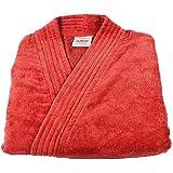 Trident Classic Crimson Pearl Medium Unisex Bathrobe