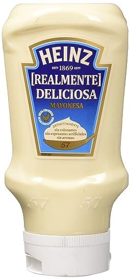 Heinz salsa mayonesa plastico top down 400 ml