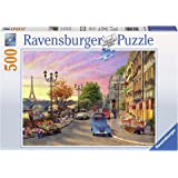 Ravensburger A Paris Evening Puzzle 500pc,Adult Puzzles