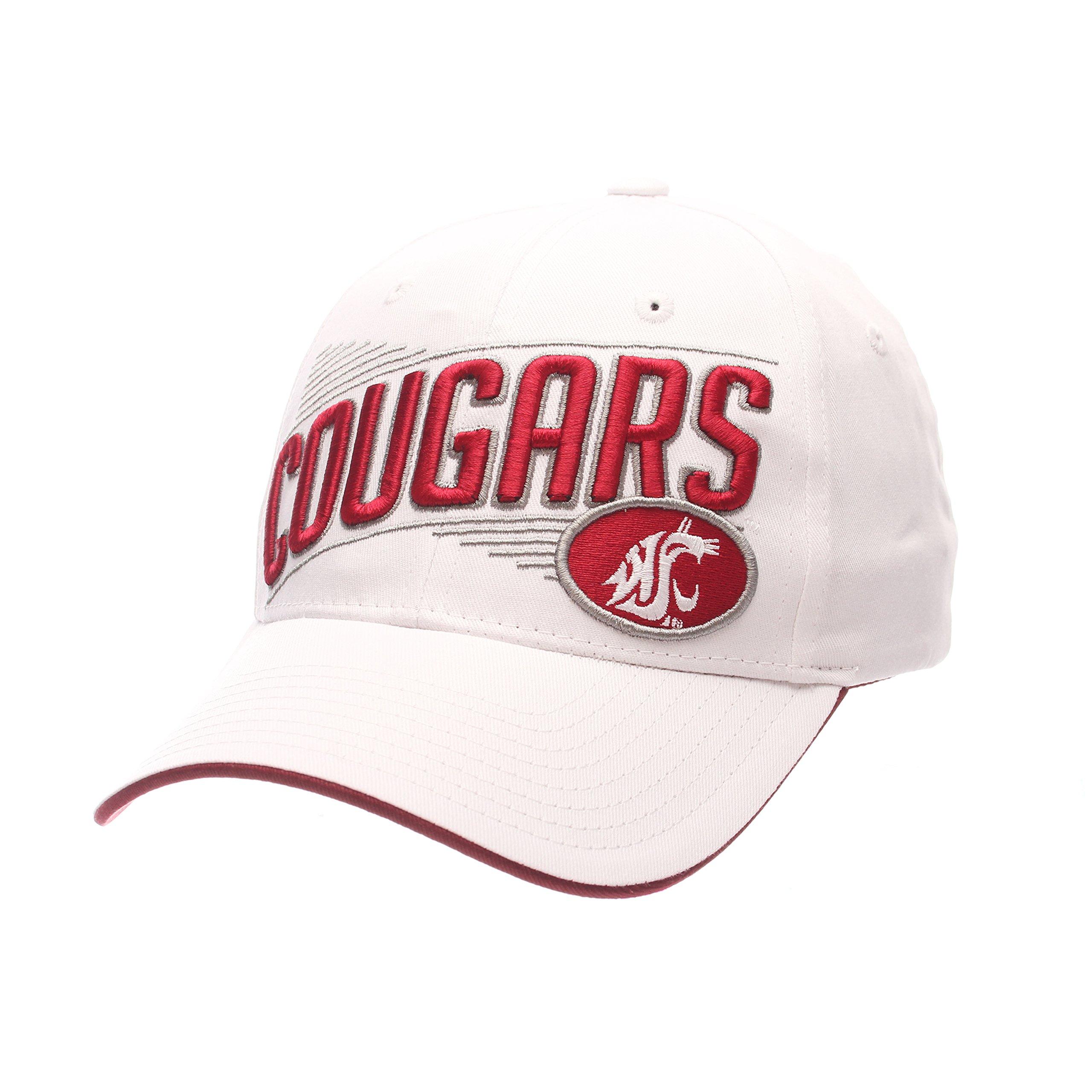 78c8e381d3961 ZHATS NCAA Washington State Cougars Adult Men s Crossover Cap ...