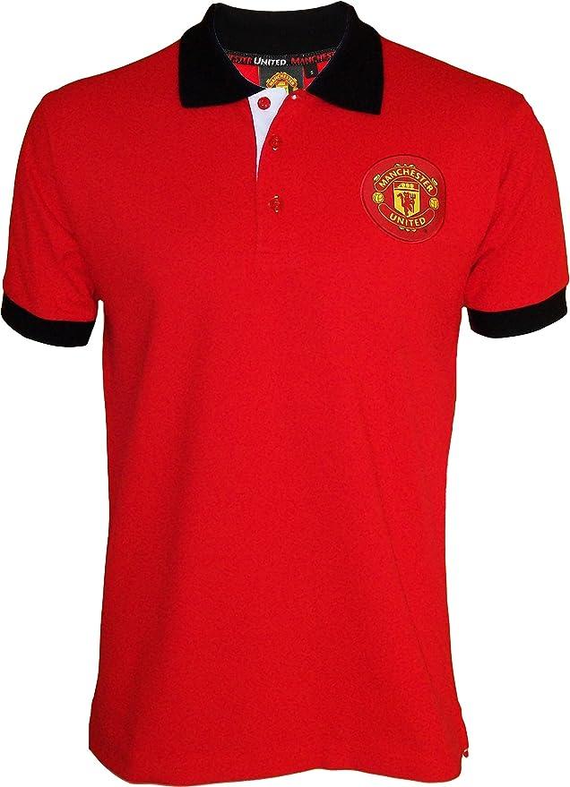 offizielle Kollektion Herren Manchester United Poloshirt Erwachsenengr/ö/ße