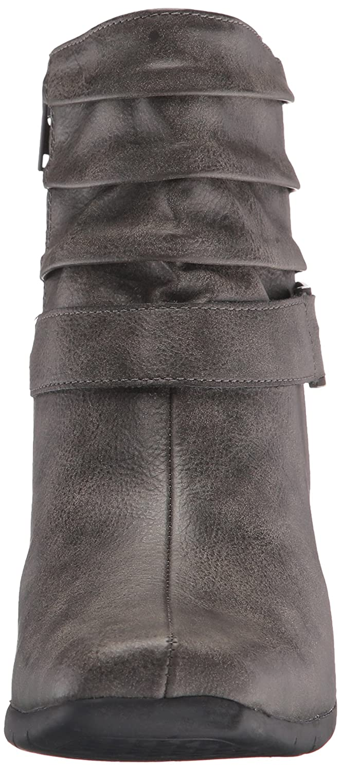 A2 by Aerosoles Women's Common Ground Boot, Grey, 6 M US