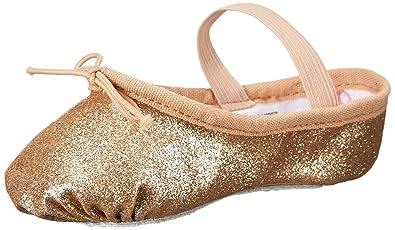 f02677971 Bloch Kids Girl's Glitter Dust Ballet Slipper (Toddler/Little Kid ...