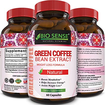 Pure green coffee bean extract plus