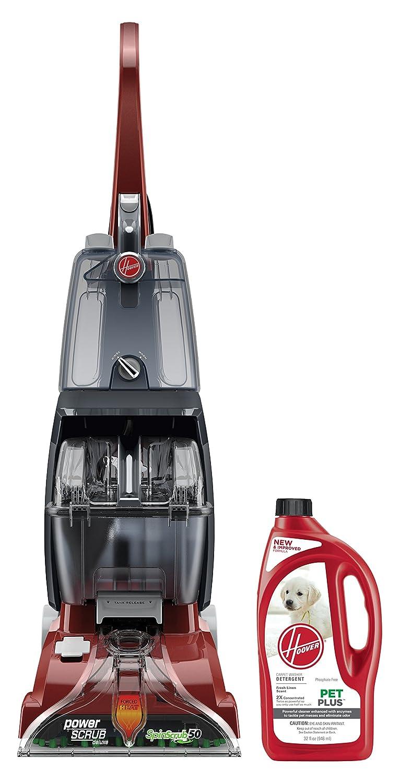 Hoover Power Scrub + 32oz PetPlus Pet Stain & Odor Solution Bundle