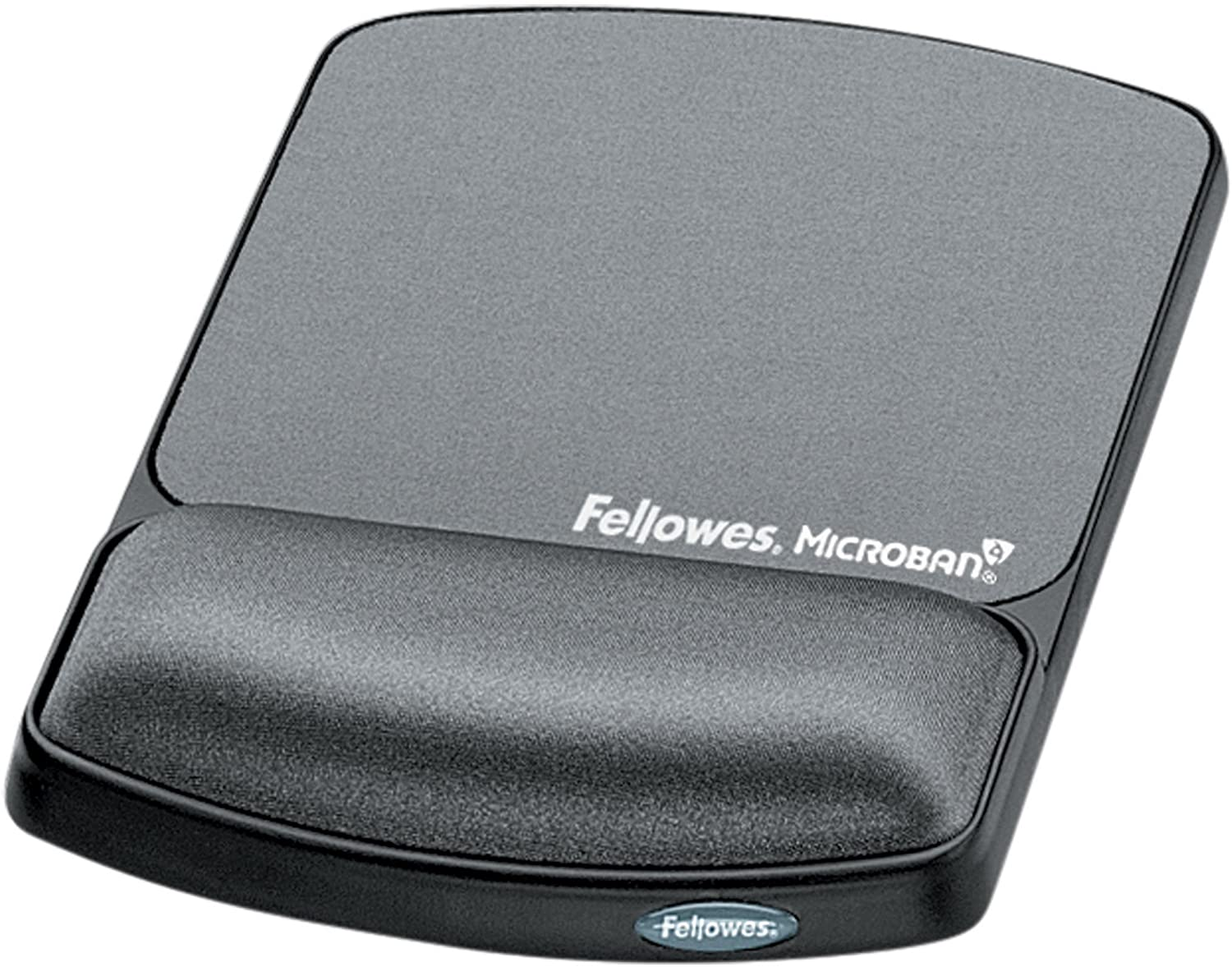 Fellowes Gel Wrist Rest /& Mouse Pad with Microban Black 9175101