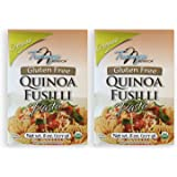 Tresomega Nutrition Organic Quinoa Pasta, Fusilli, 8 Ounce (Pack of 2)